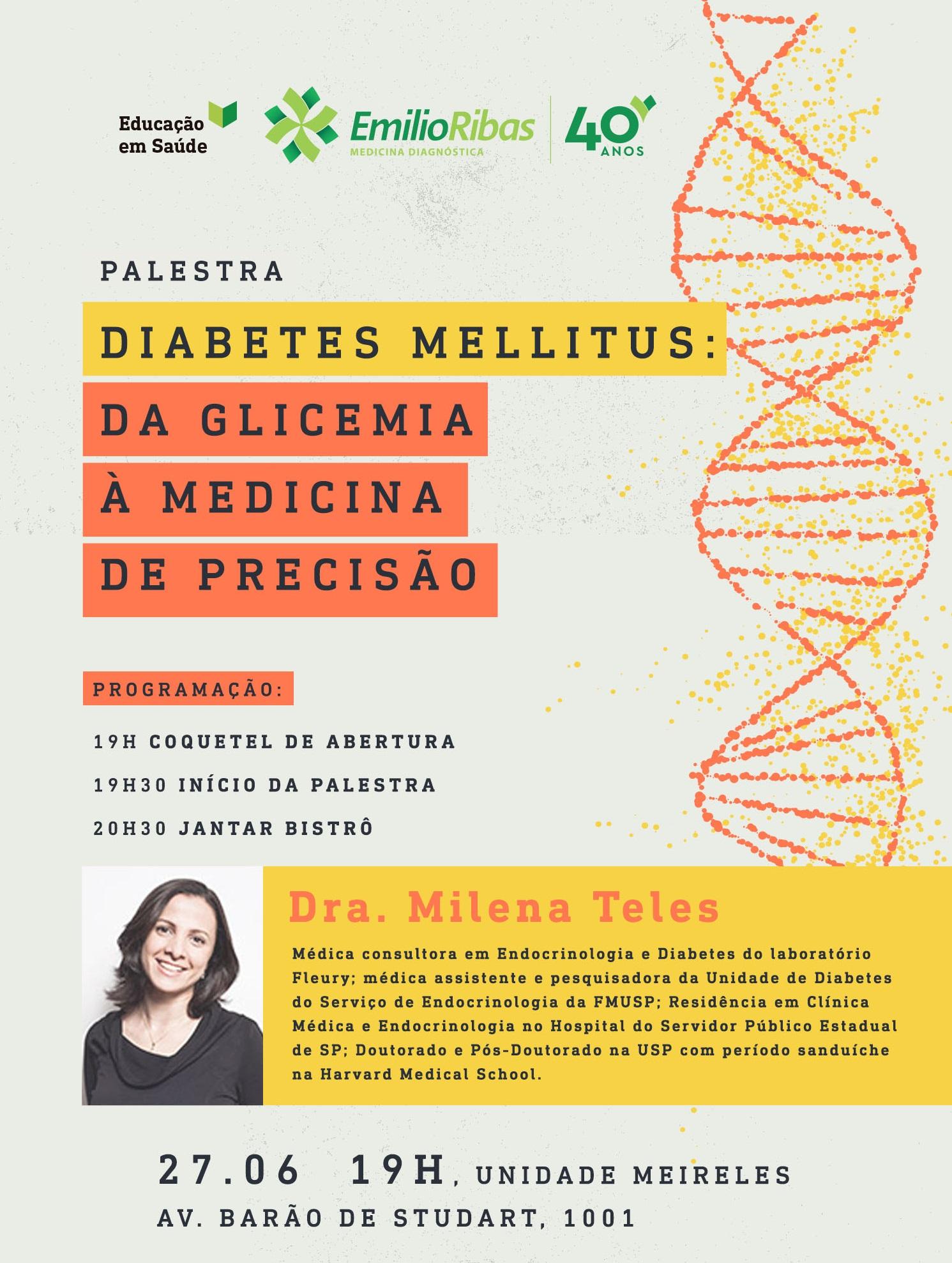 Palestra Diabetes Mellitus