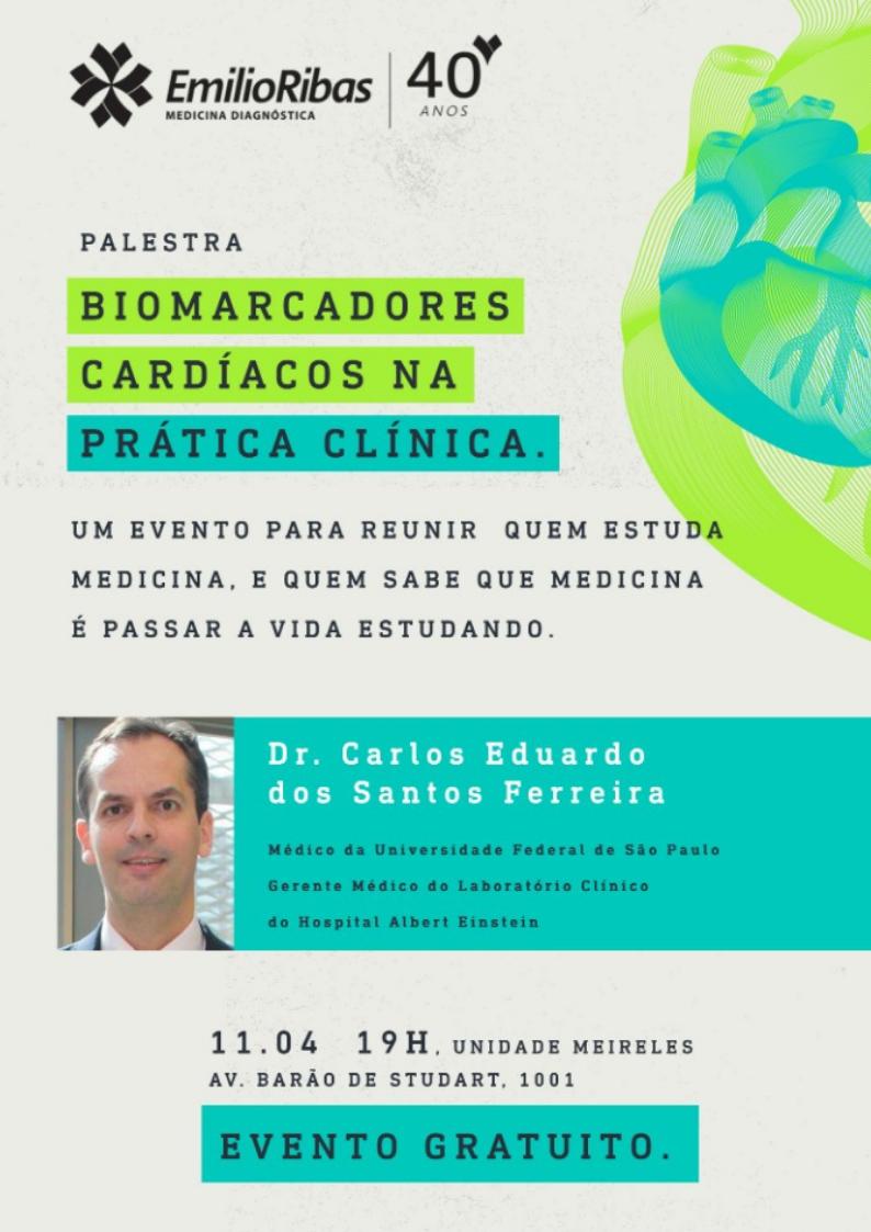 Palestra Biomarcadores Cardíacos