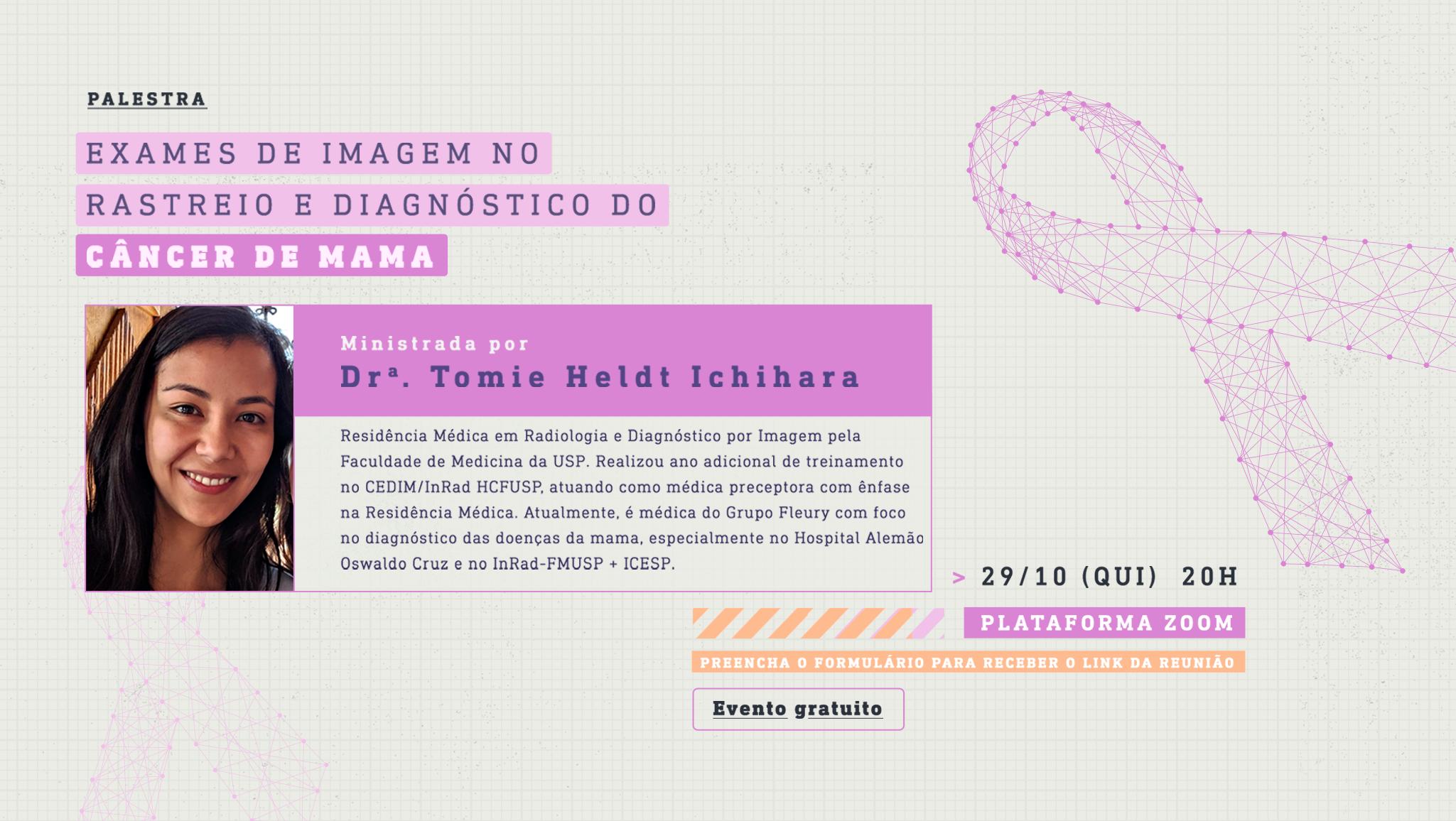 [Webinar] Exames de Imagem no Rastreio e Diagnóstico do Câncer de Mama
