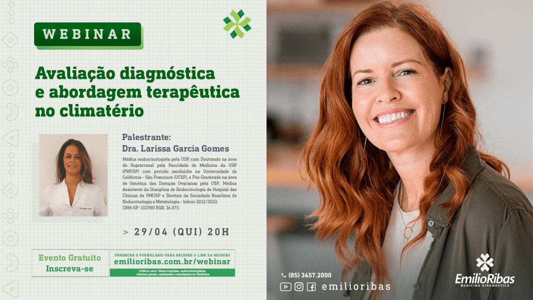 [WEBINAR] Avaliação diagnóstica e abordagem terapêutica no climatério