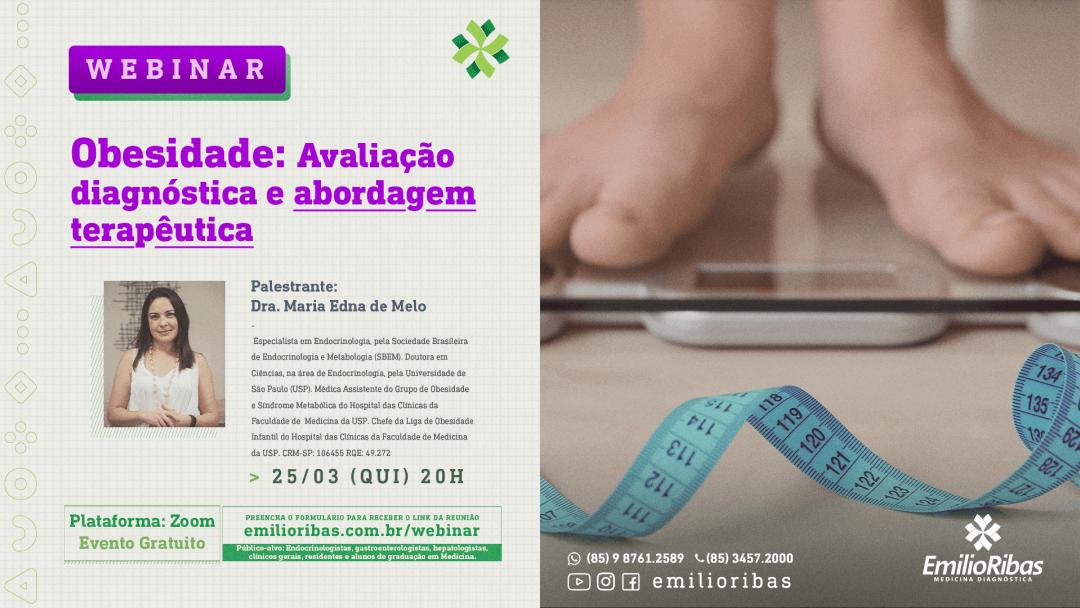 [WEBINAR] Obesidade: Avaliação diagnóstica e abordagem terapêutica