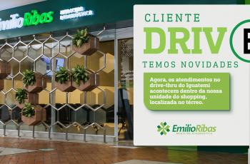 Emilio Ribas remaneja serviço drive thru do Iguatemi