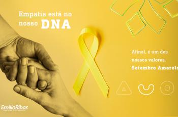 Setembro Amarelo – Empatia está no nosso DNA!